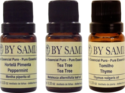 Óleos Essenciais de Hortelã pimenta, Tea tree e Tomilho podem auxiliar em tratamentos de canais dentários.